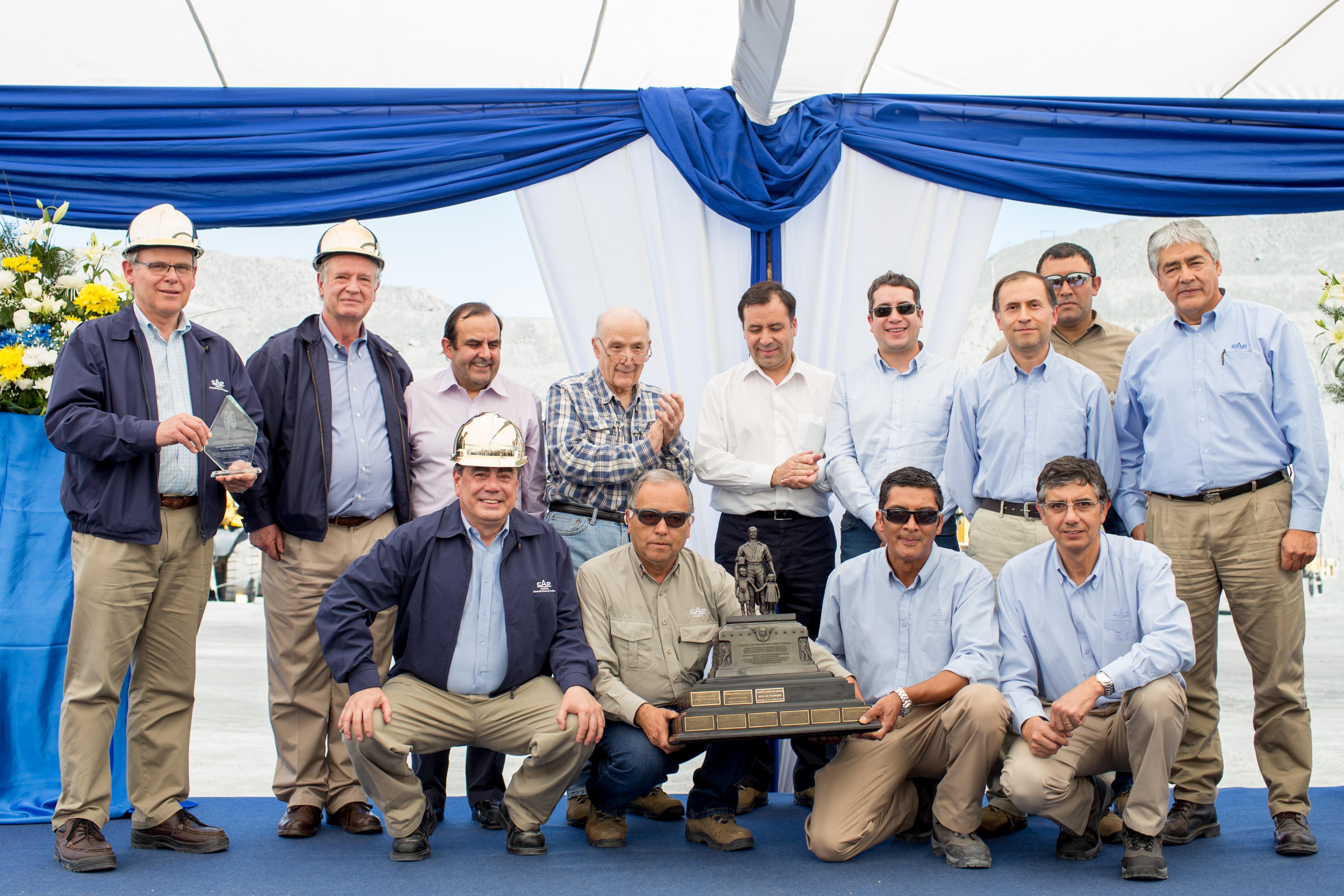 """CAP Minería recibe por segundo año consecutivo el premio """"John T. Ryan"""" por sus destacados resultados en seguridad y prevención de accidentes"""
