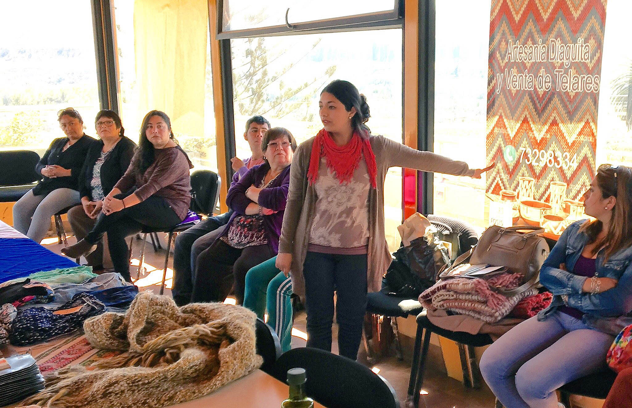 Con entusiasmo presentaron sus planes de negocio en talleres FOSIS en Freirina