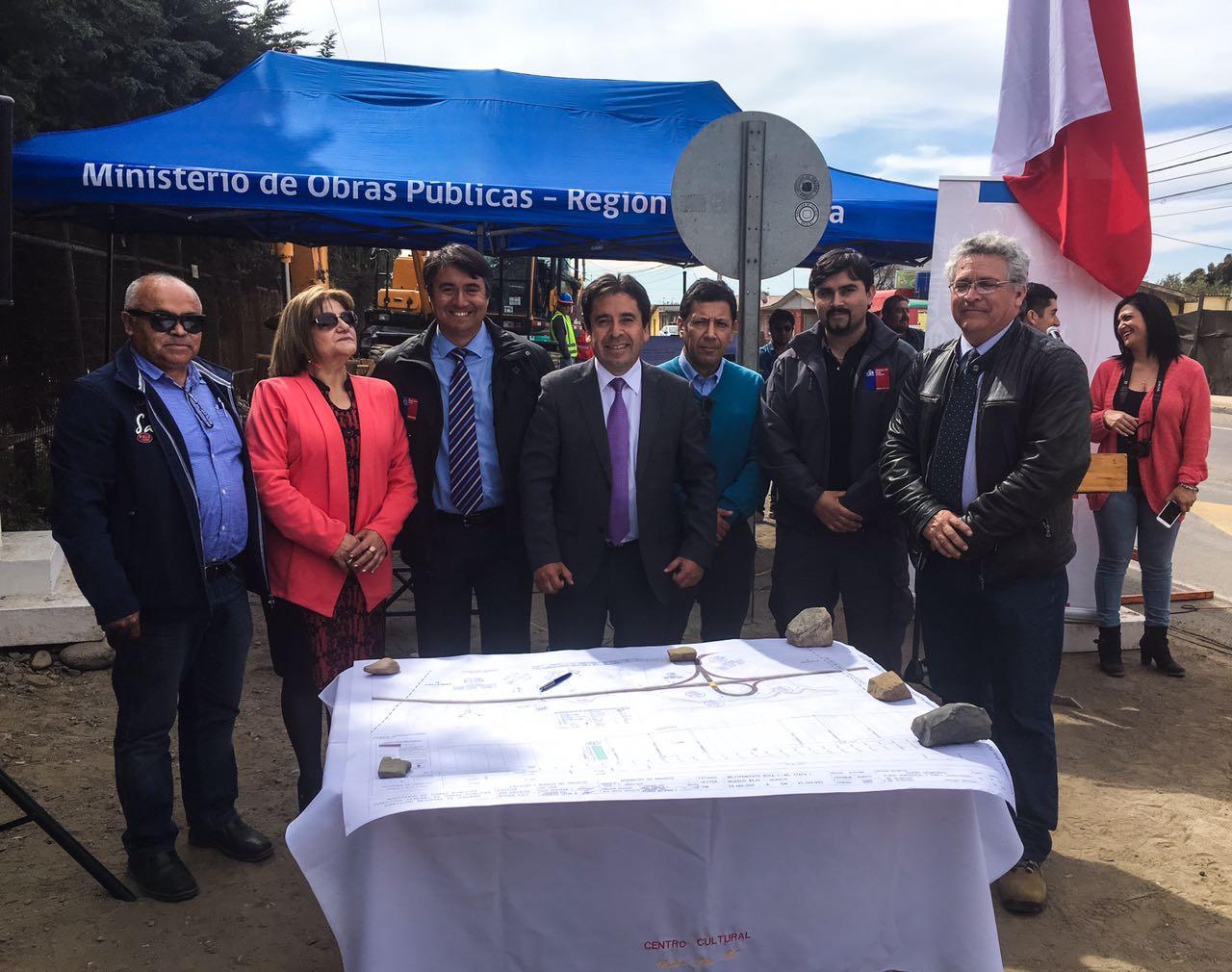 Comenzaron las obras de mejoramiento de la Ruta C-46 en Huasco Bajo