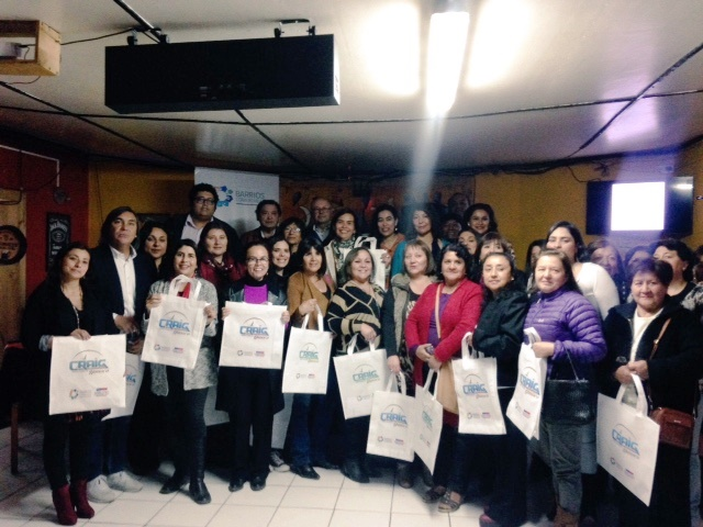 Empresarios del barrio comercial Craig de Huasco presentaron nueva imagen corporativa