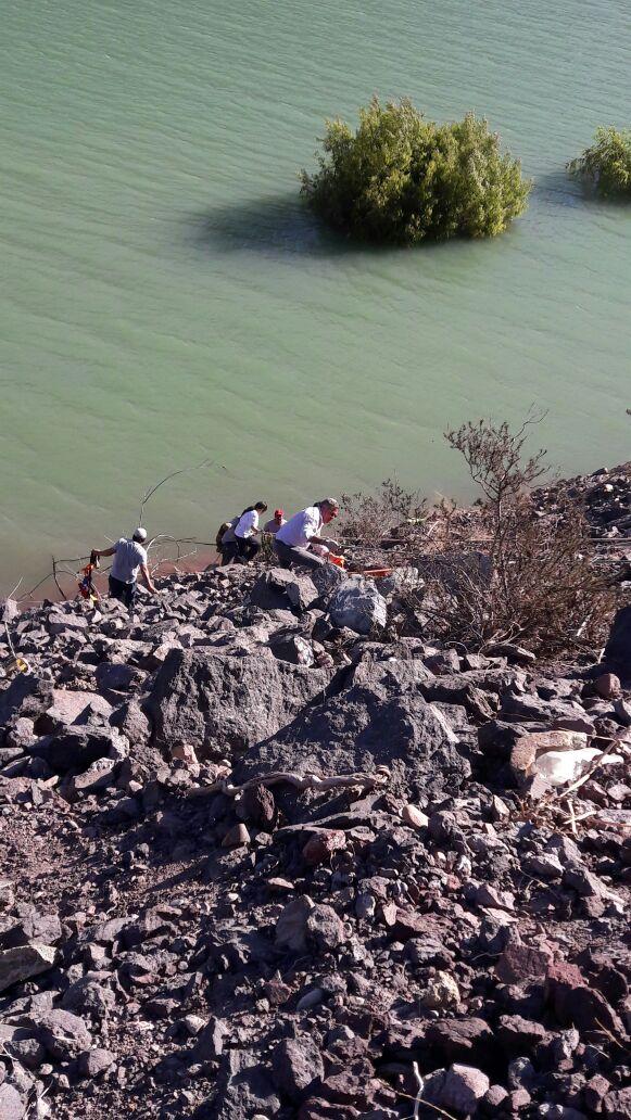 GOPE de Carabineros se une a labores de búsqueda de persona desaparecida en embalse Santa Juana
