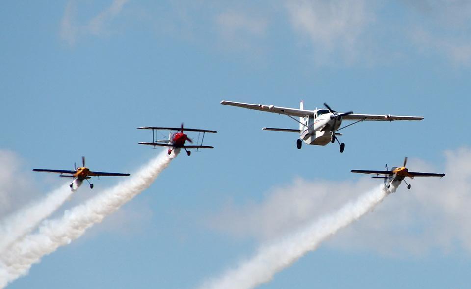 Este 19 y 20 noviembre se realizará Festival Aéreo en Vallenar