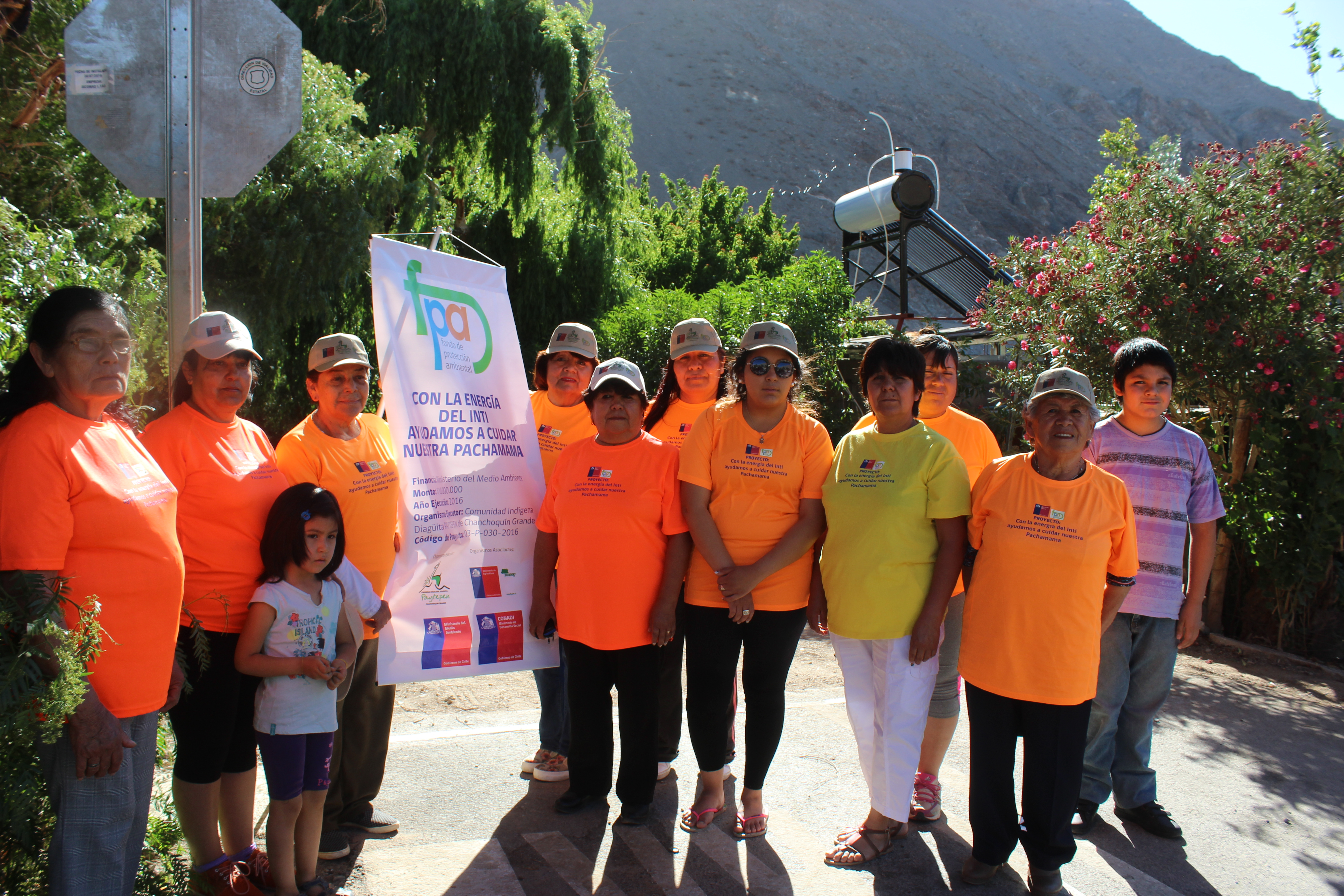 16 familias de Chanchoquín Grande ya cuentan con duchas solares en la comuna de Alto del Carmen