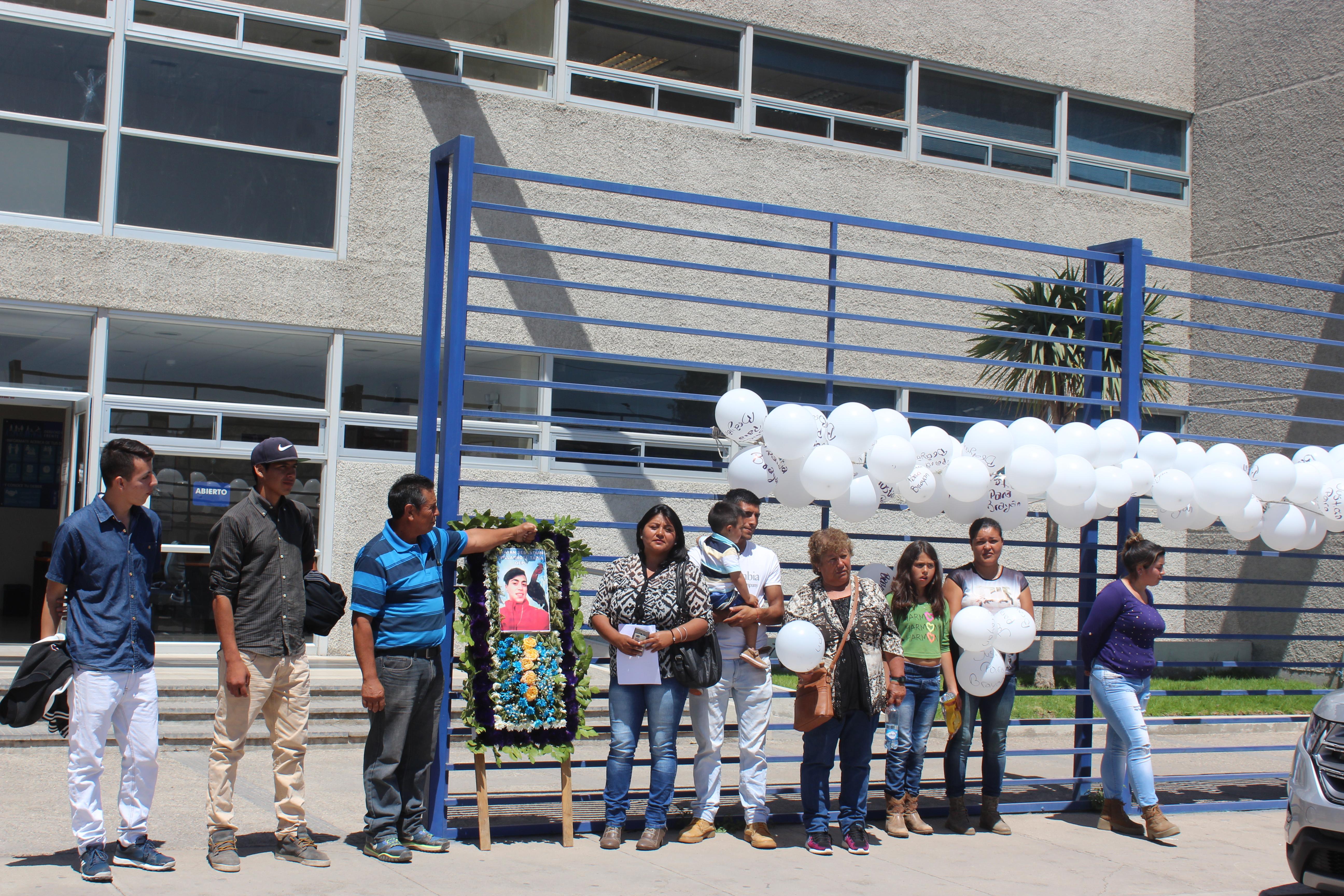 Presentan querella contra atacantes de estudiante muerto en Vallenar
