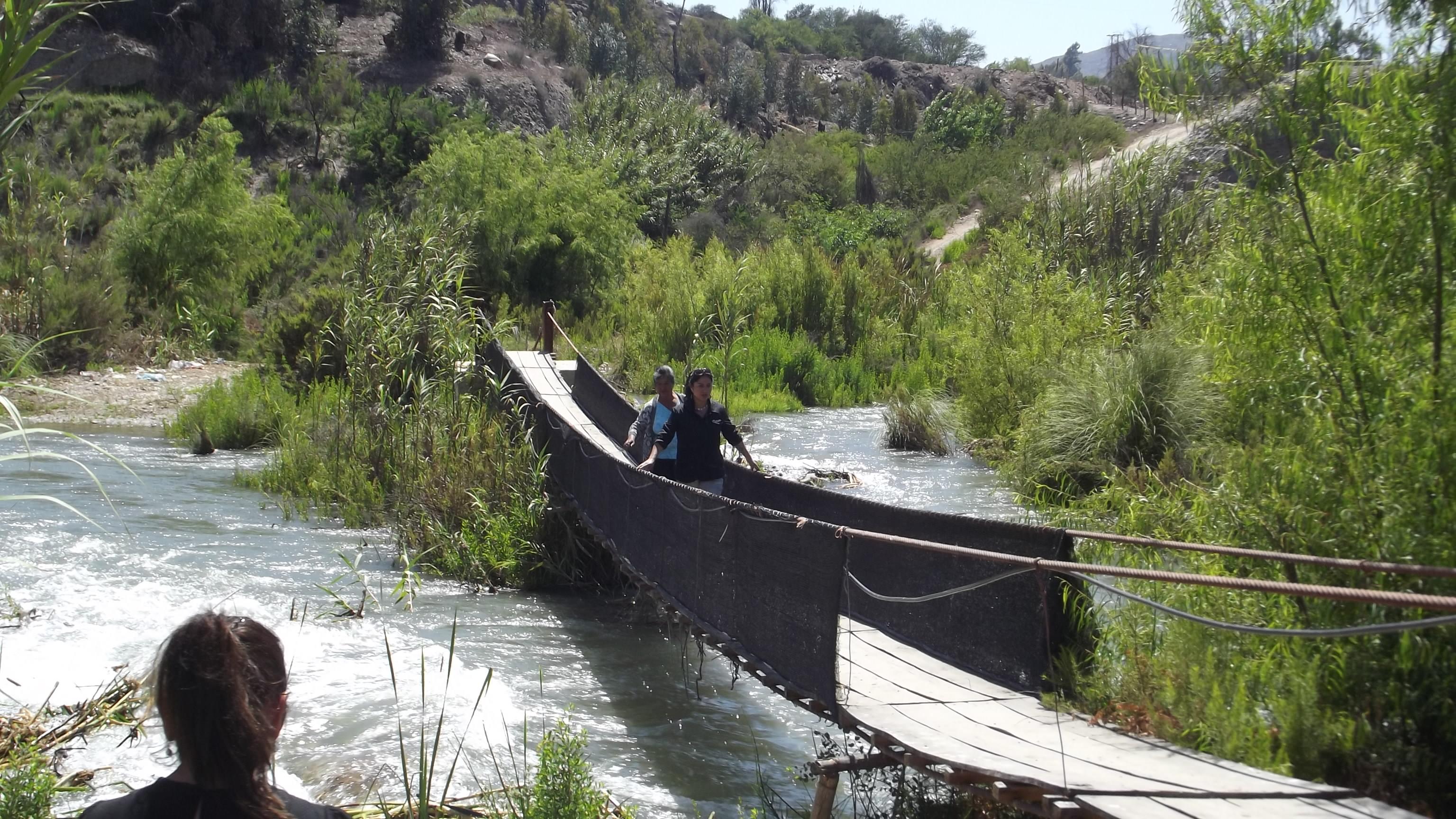 Compleja situación de agricultores con crecida del río Huasco en Vallenar