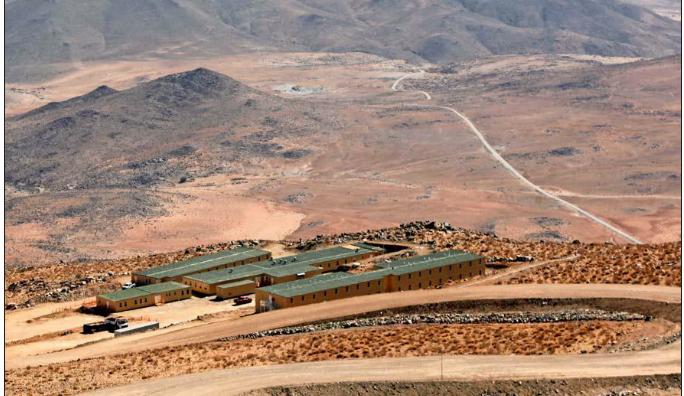 En Vallenar avanzan las obras del telescopio gigante de Magallanes