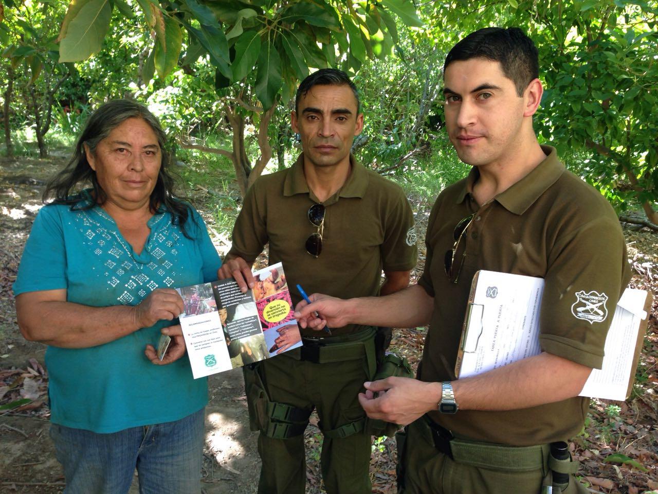 Carabineros que busca prevenir la manipulación de fuegos artificiales en la provincia del Huasco