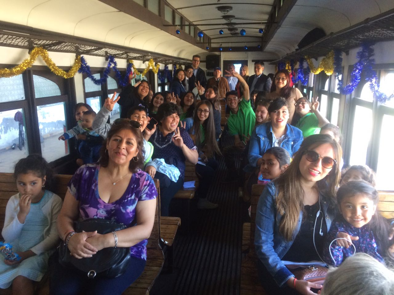 Tren Navideño recorrió Huasco, Freirina y Vallenar