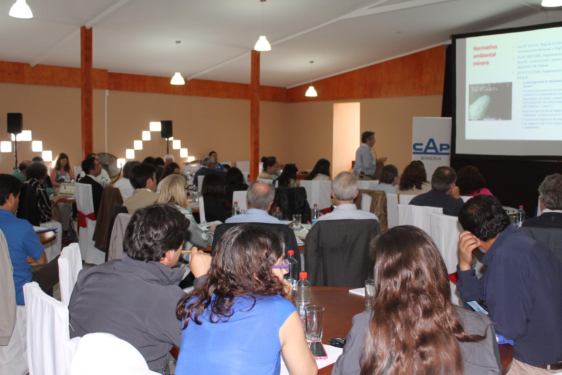 En Huasco se realizó Seminario Internacional de relaves inertes