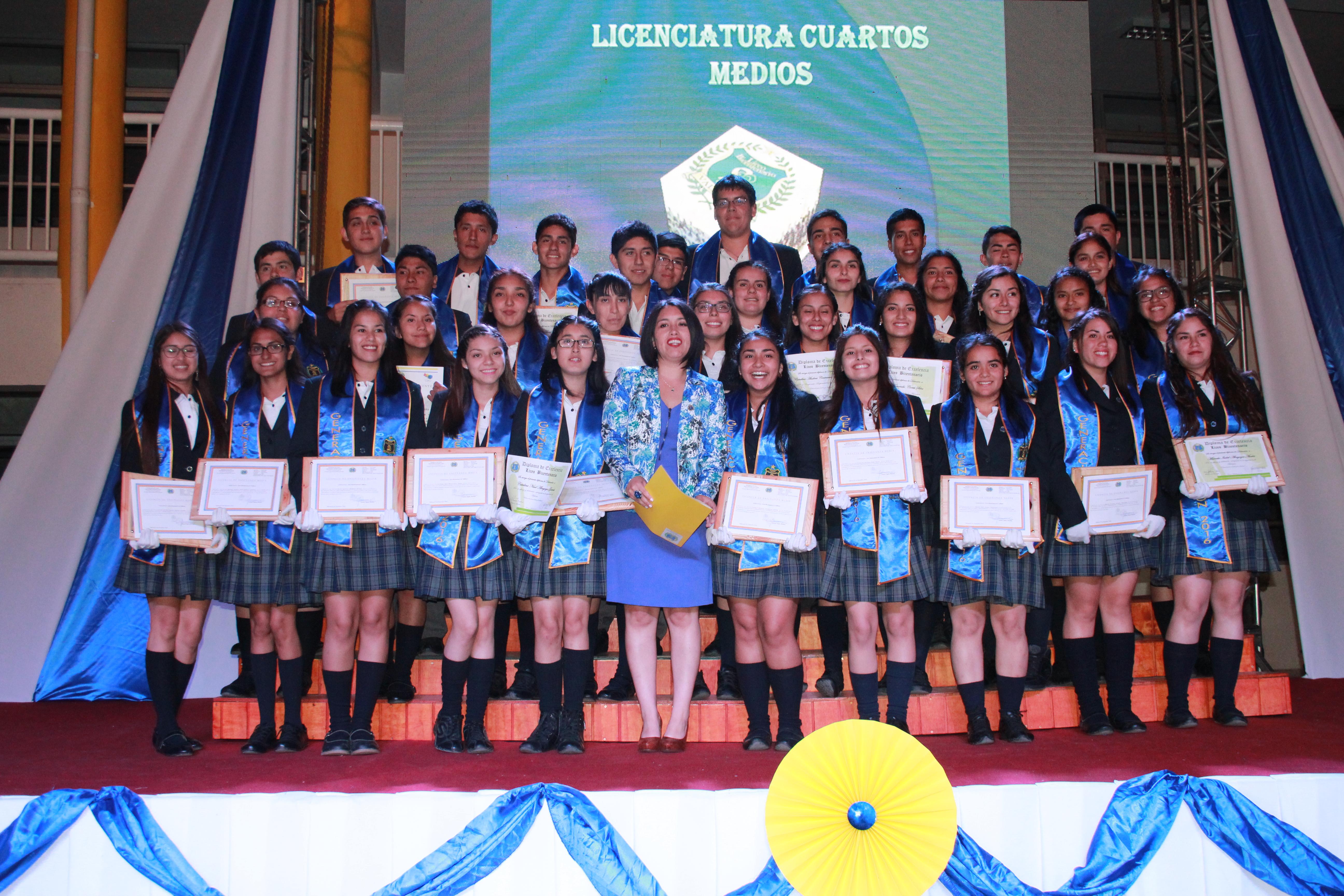 Egresa primera generación del emblemático Liceo Bicentenario de Vallenar