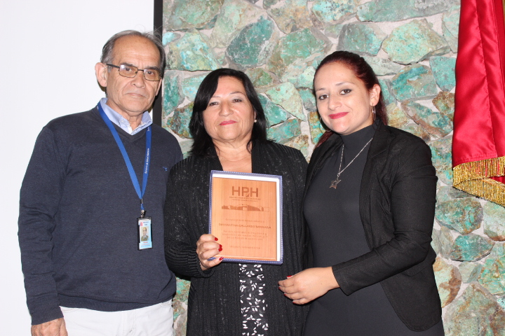 Hospital Provincial del Huasco reconoció a funcionarios con más de 30, 35 y 40 años de servicio