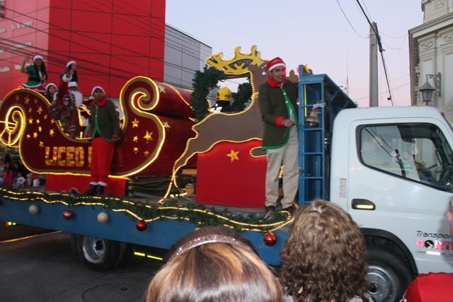 El próximo jueves 22 se realizará corso navideño en Vallenar