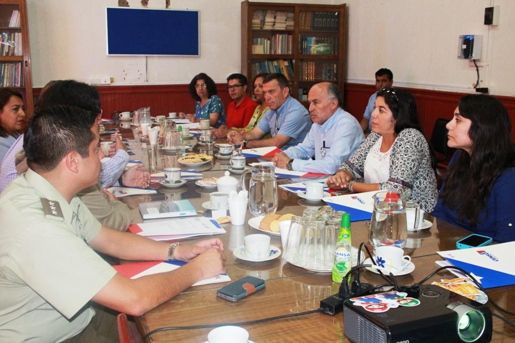 Comisión Comunal del Censo 2017 afina detalles para aplicación de encuesta en Vallenar
