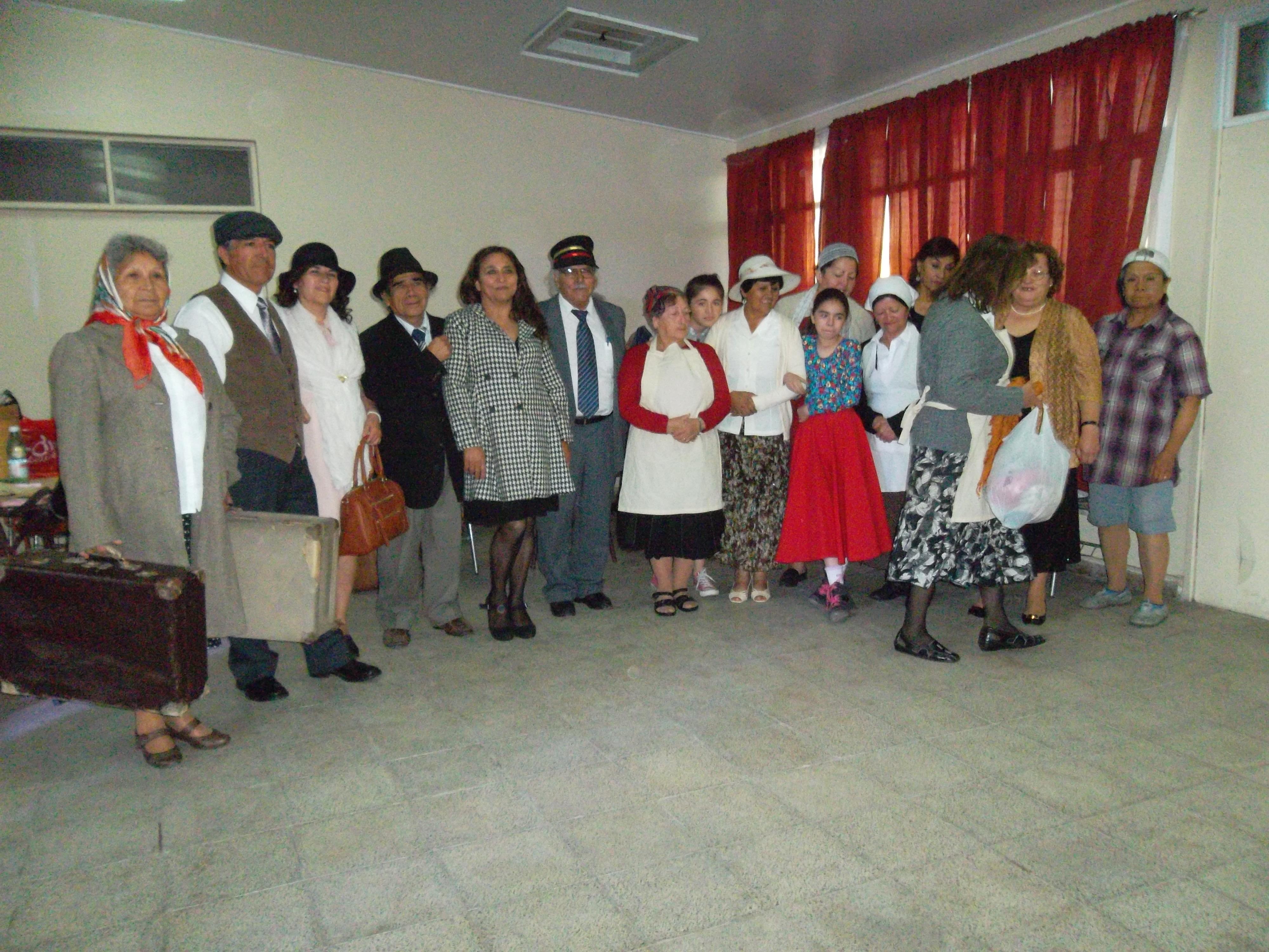 Con obra de teatro celebraron día del ferroviario en Vallenar