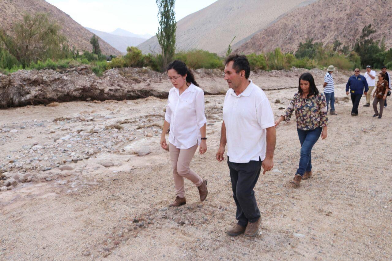 Gobierno avanza en su trabajo en zonas afectadas por mal tiempo en Atacama
