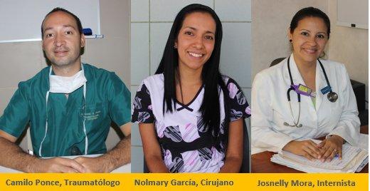 Tres nuevos médicos llegan al Hospital Provincial del Huasco