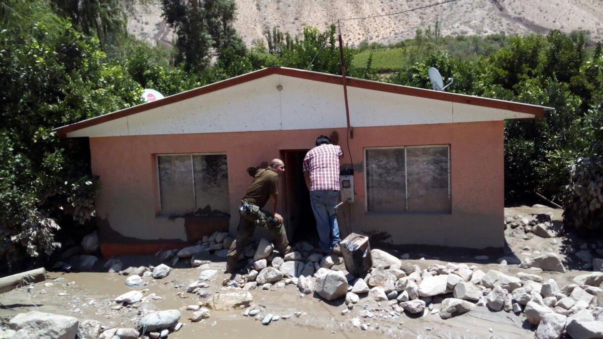 Seremi de Gobierno destacó la labor en terreno realizada en las zonas afectadas por la emergencia