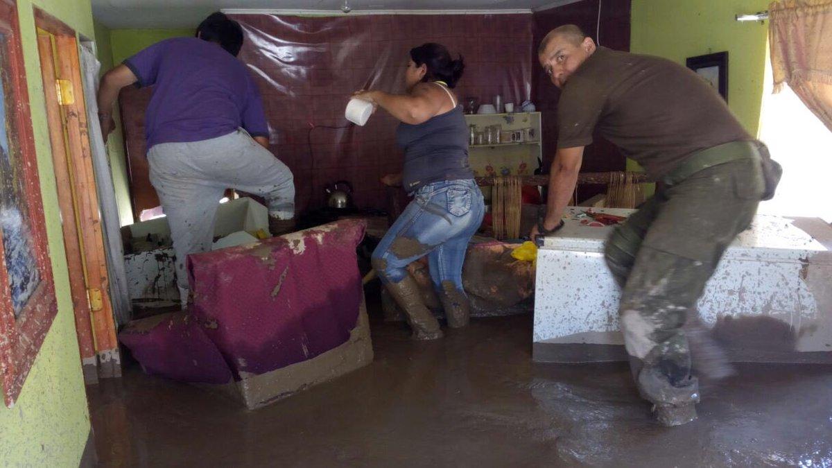 Gobierno iniciará entrega de bonos de enseres a vecinos de Chollay afectados por el aluvión