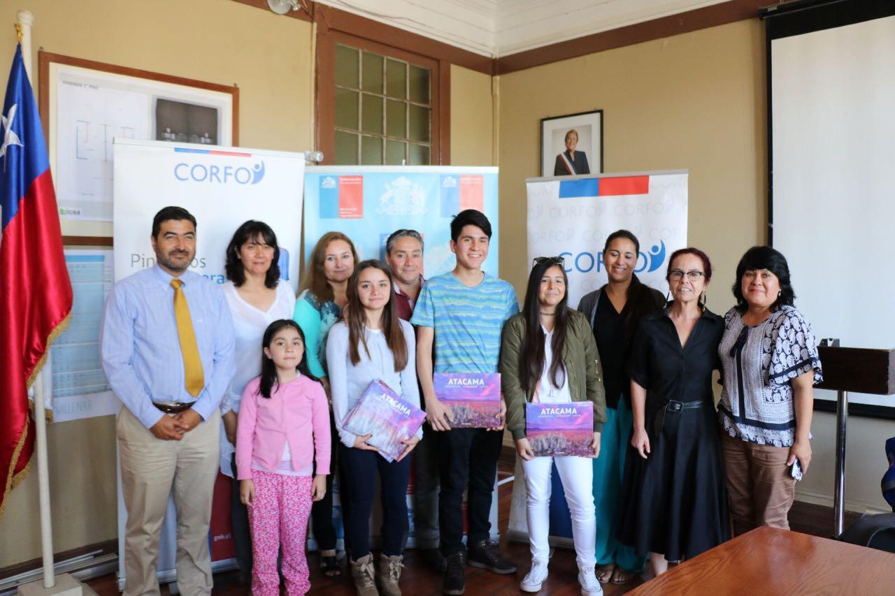 """Por primera vez dos estudiantes de Vallenar serán parte de """"Pingüinos Sin Fronteras"""" de Corfo"""