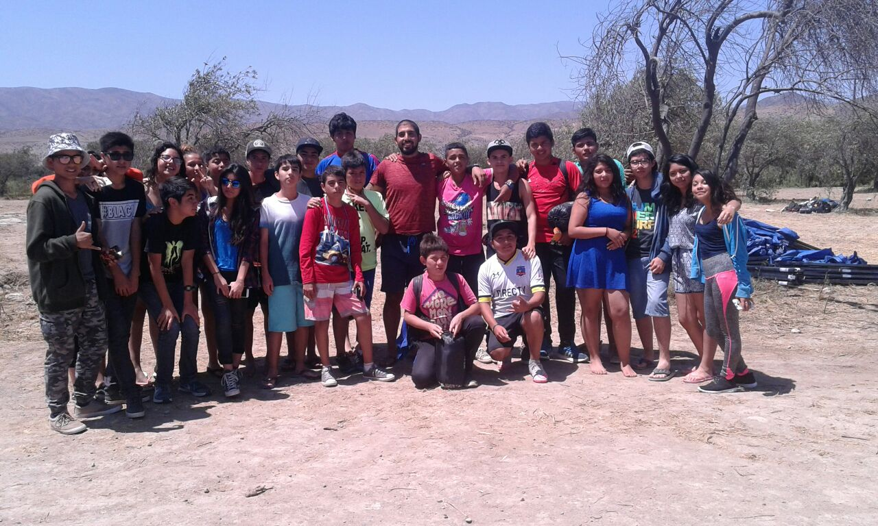 Comunas de la Provincia de Huasco organizan Primer Campamento de Verano para estudiantes de 8° básico