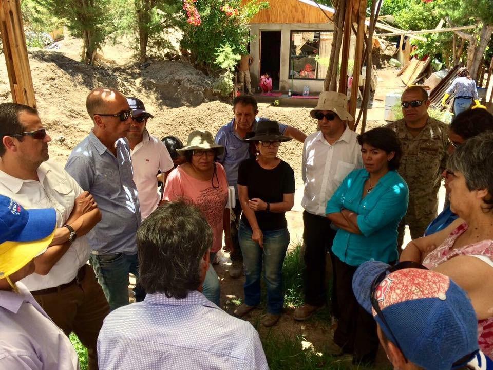 Subsecretario de Vivienda llegó a Alto de Carmen y comprometió subsidios de emergencia para los afectados