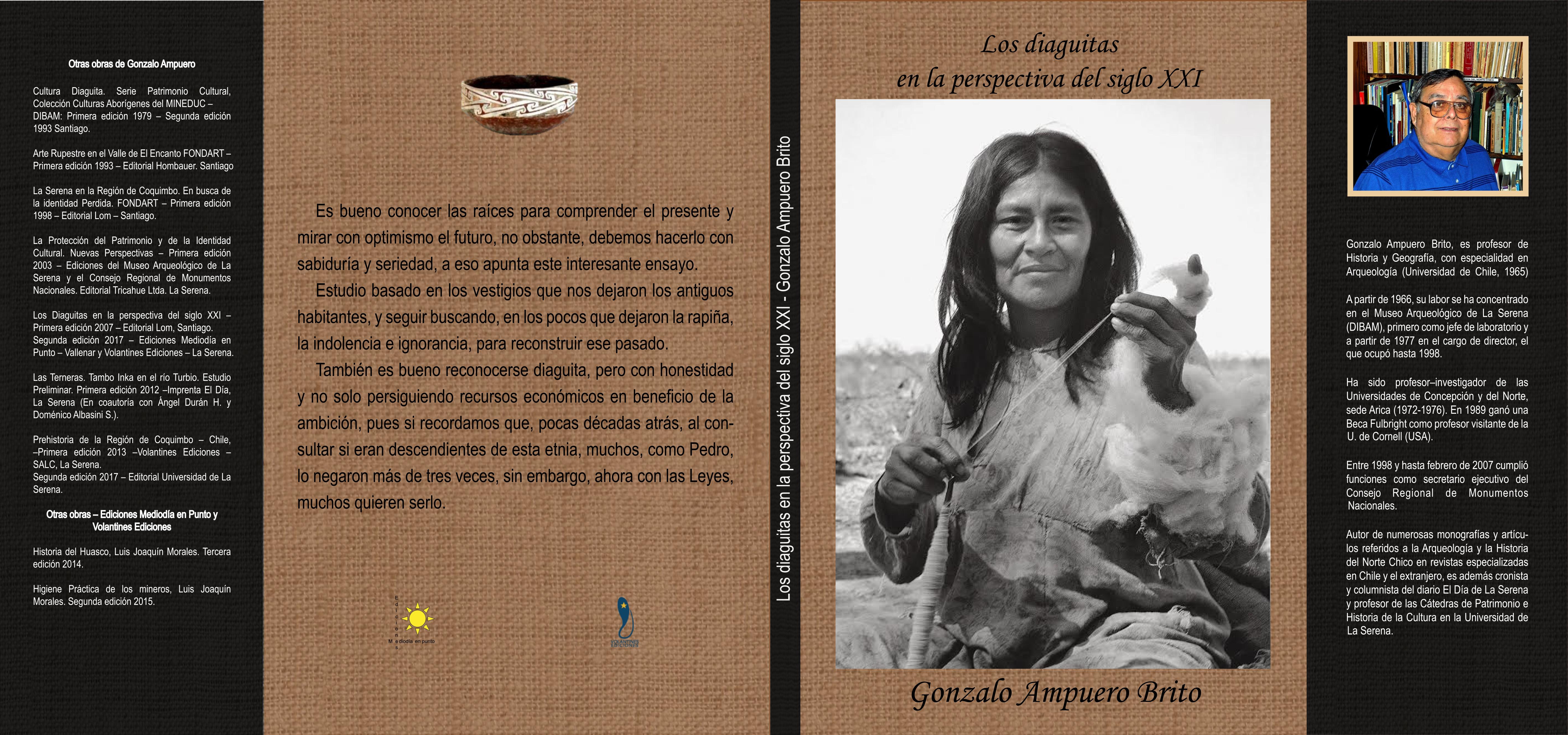 Editorial Mediodía en Punto presentará libro sobre Diaguitas