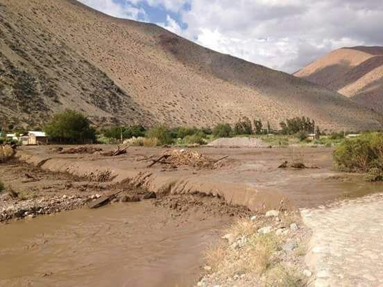 Onemi declara Alerta Amarilla para las comunas de Diego de Almagro y Alto del Carmen por remoción en masa