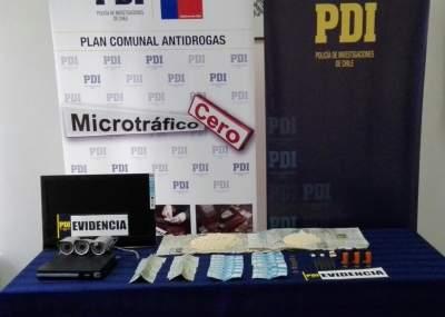 Detienen a familia por microtráfico en Vallenar: En su poder encontraron 15 mil dosis de cocaína