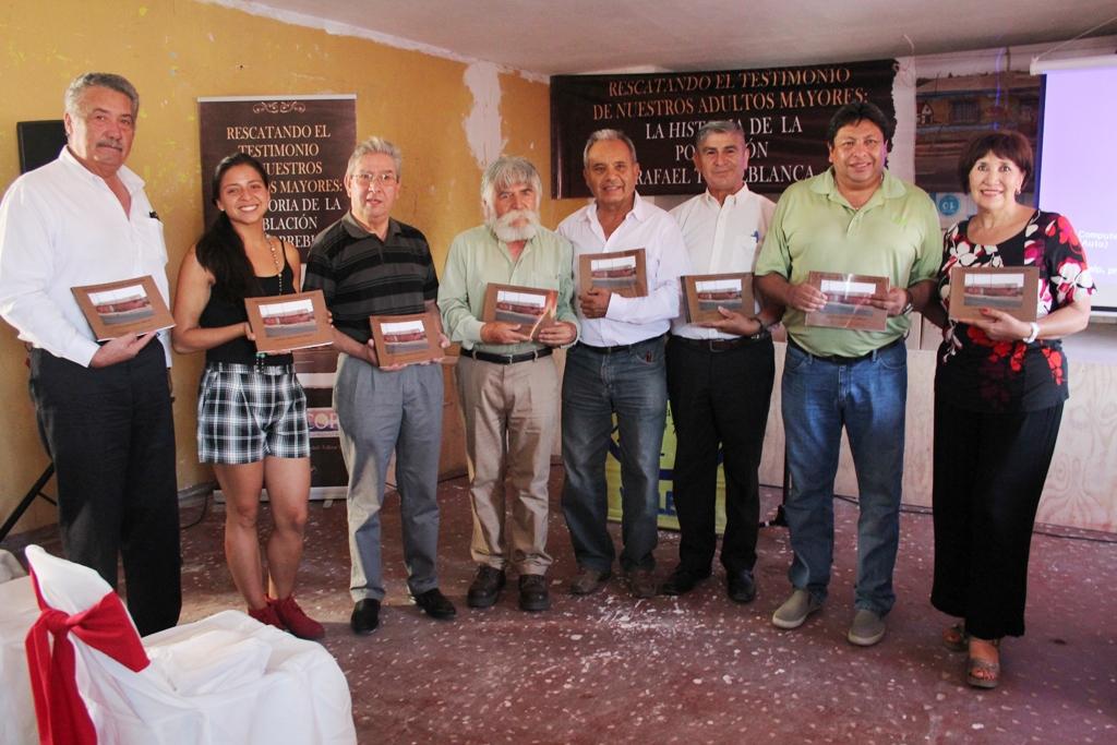 Junta de Vecinos lanza libro sobre la historia de la población Rafael Torreblanca en Vallenar