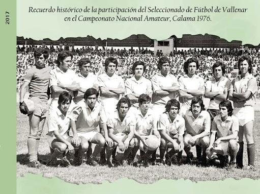 Ponen a la venta libro que rescata participación de selección de fútbol de Vallenar en Nacional de 1976