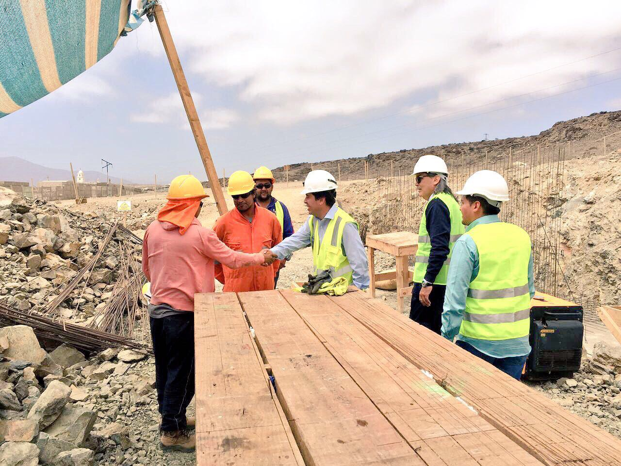 45% de avance en su construcción lleva el estadio Huasco