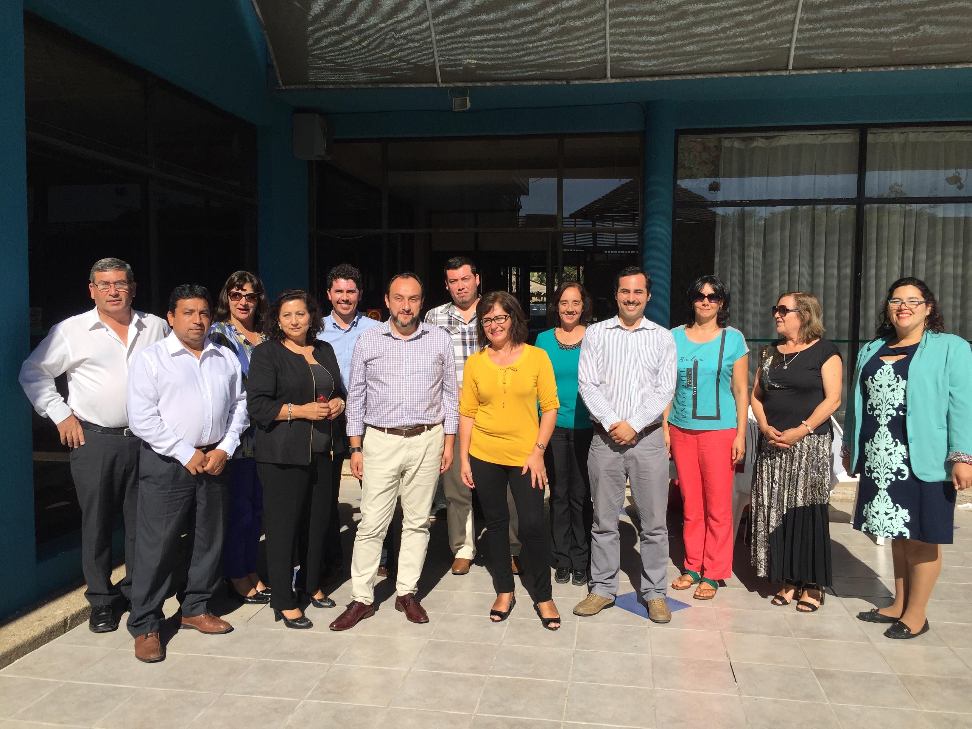 Agencia de Calidad de la Educación expone en  reunión de Territorio de Anticipación Huasco