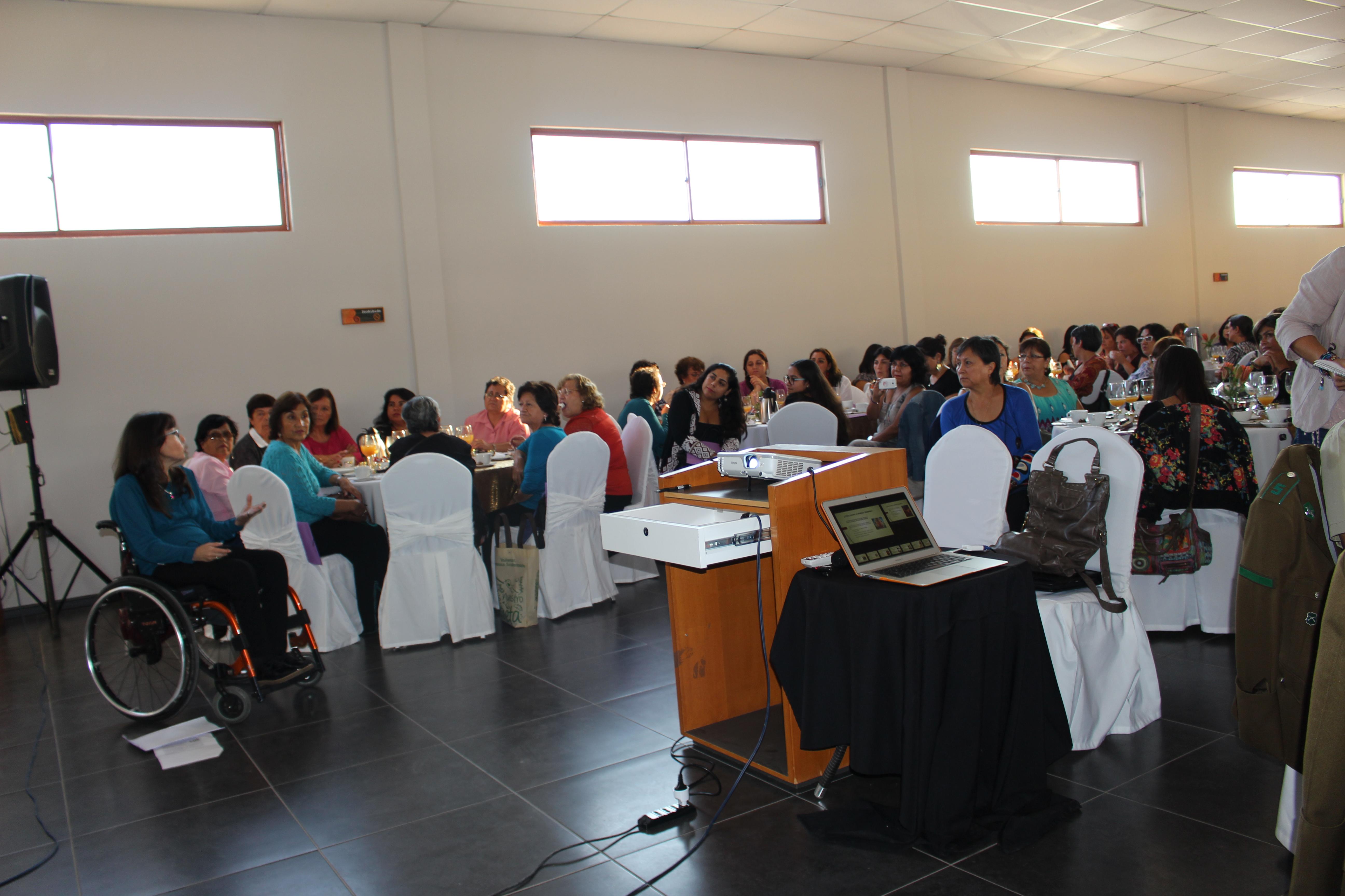 Mujeres líderes de la Provincia del Huasco se reunieron en Workshop que llamó al empoderamiento femenino