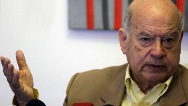 Insulza retrocede y acepta ir como candidato a senador por Arica y Parinacota