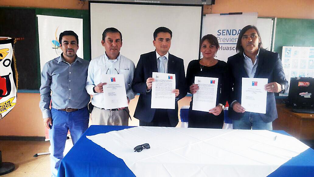 Huasco, primer municipio en implementar programa de prevención selectiva a nivel nacional