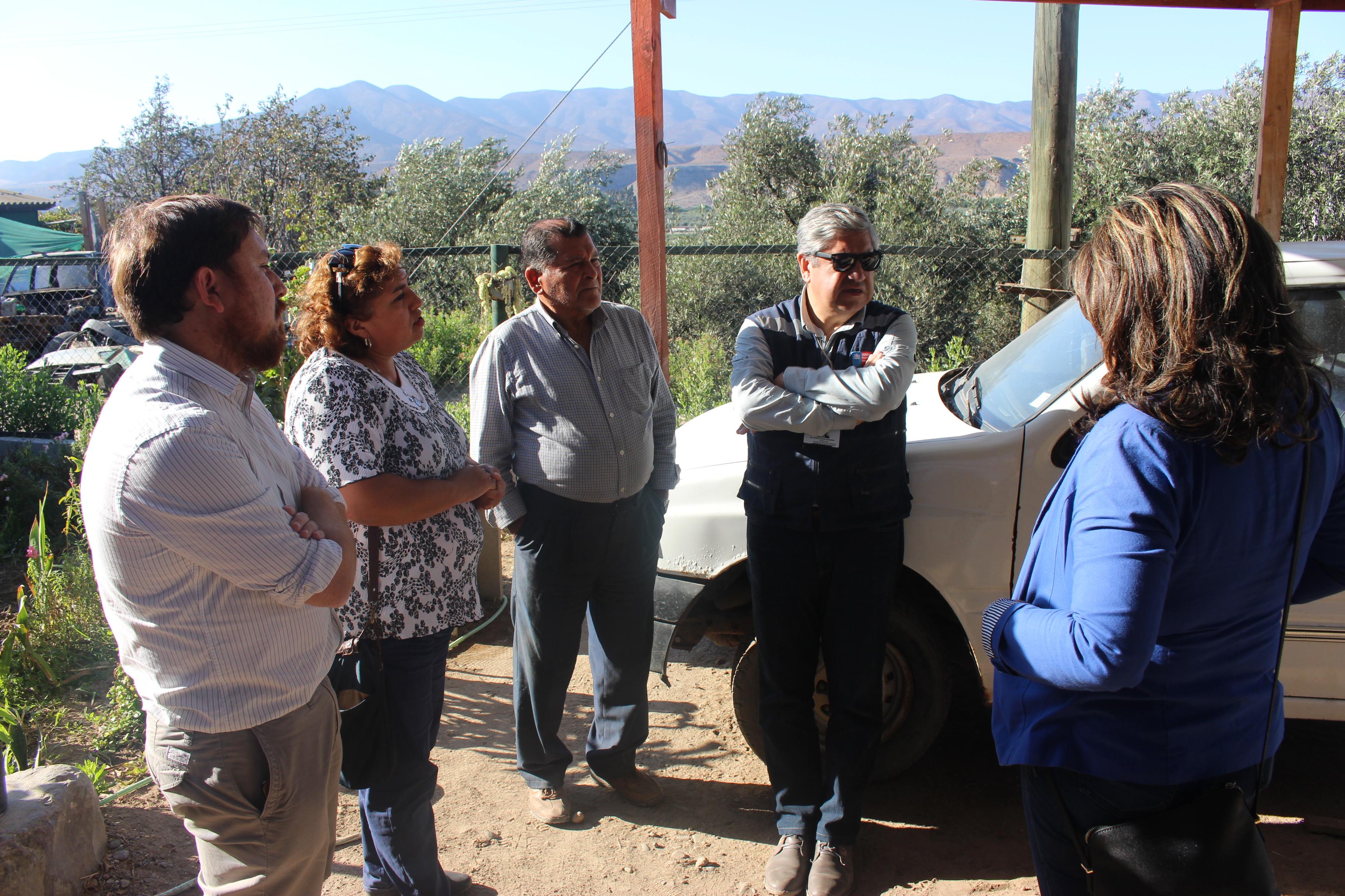 """Seremi de Salud visita """"Las Tablas"""" por problemas con suministro de agua"""