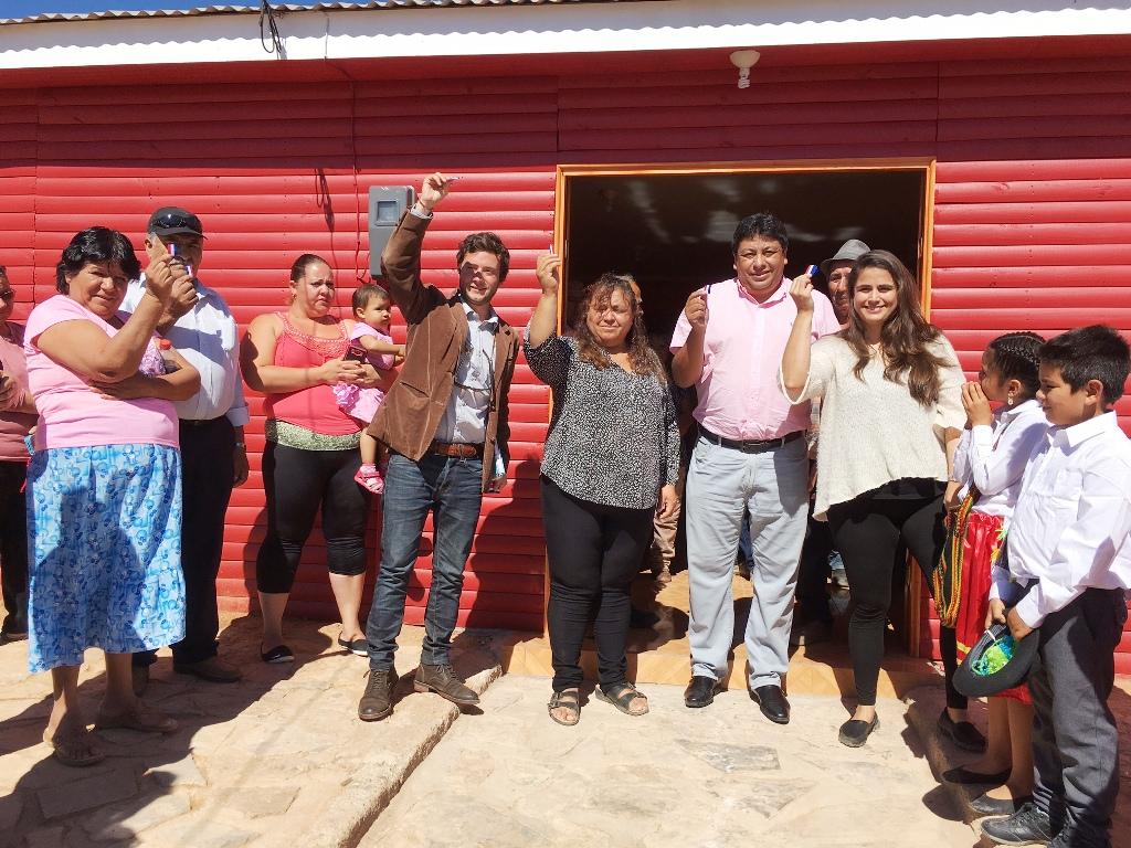 Con alianza público-privada inauguran sede social de Cachiyuyo