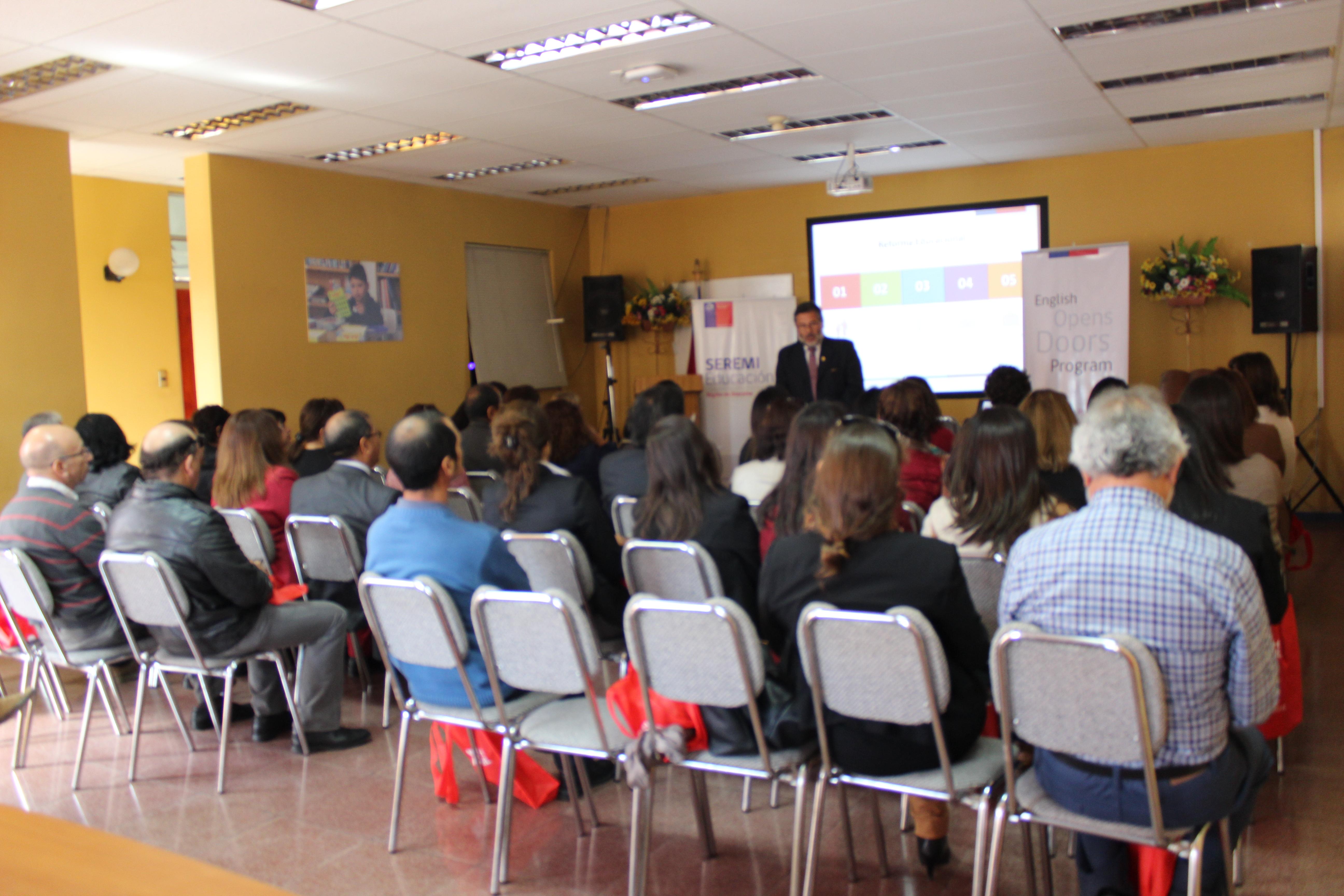 El Programa Inglés Abre Puertas este año se implementará  en la Provincia del Huasco