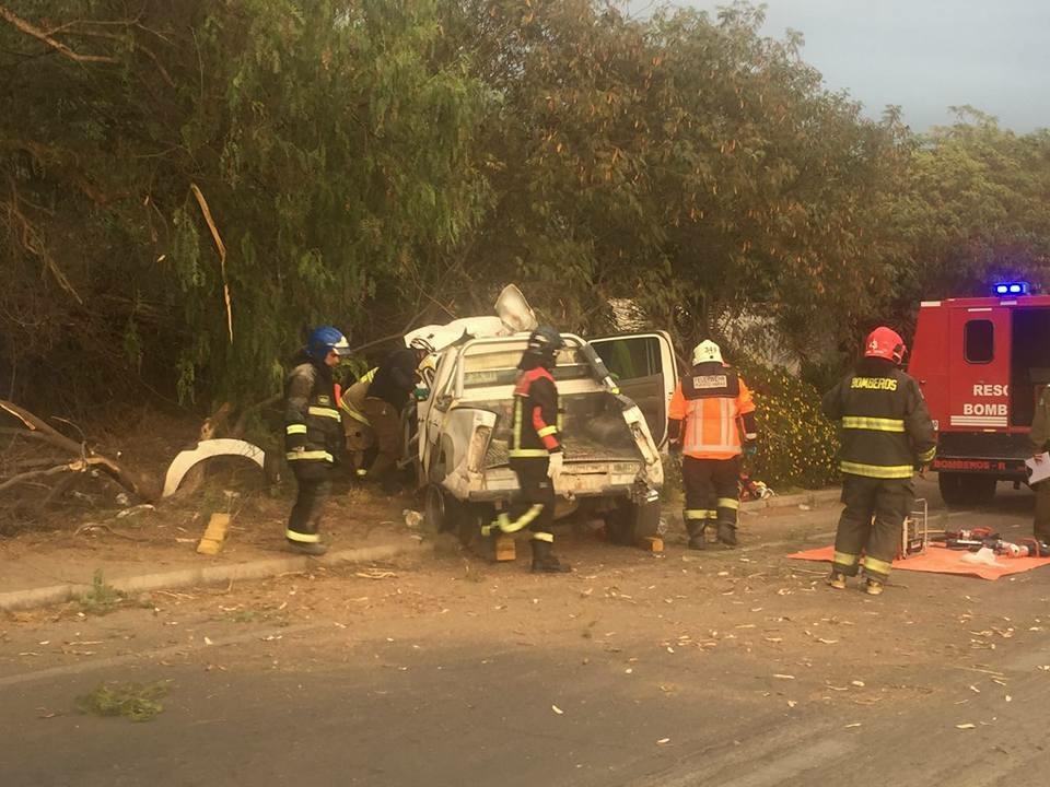 Un fallecido deja accidente de tránsito en Vallenar