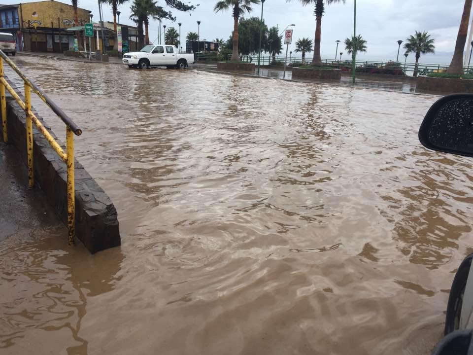 Más de 100 mm de agua cayeron en Conay