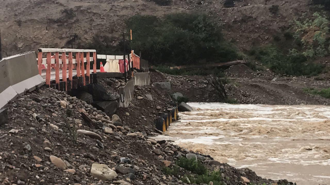 Autoridades evalúan positivamente coordinación de organismos ante anuncio de precipitaciones para Atacama