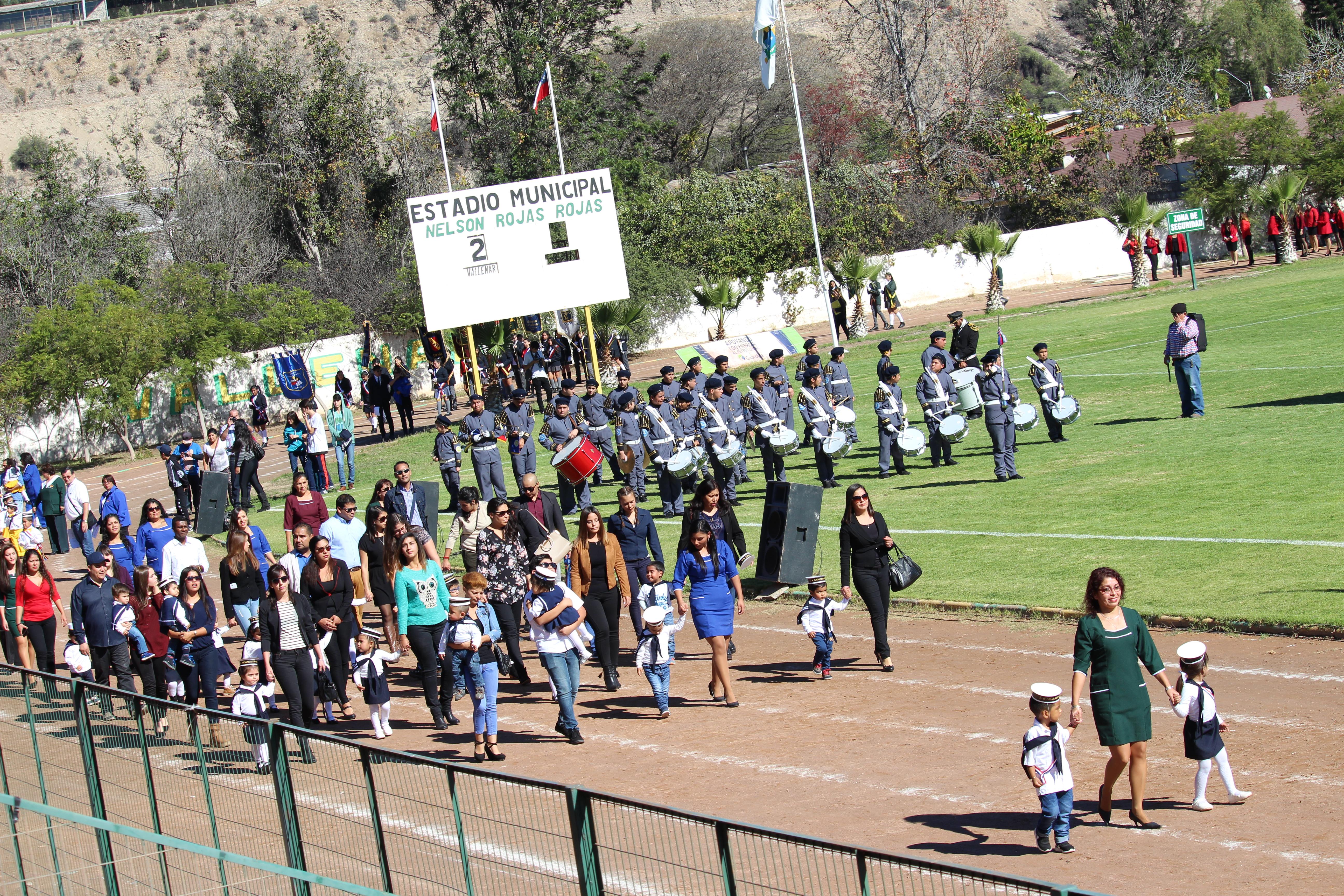 Desfile de las Glorias Navales de Vallenar destaca por su mensaje de unión