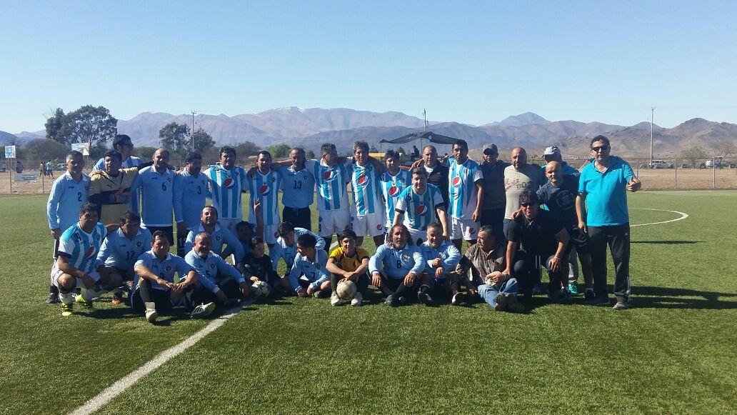 """Atacama A es el del """"jogo bonito"""" en los viejos crá: pentacampeón"""
