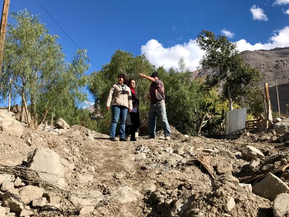 Avances en obras de reposición de caminos en la provincia de Huasco