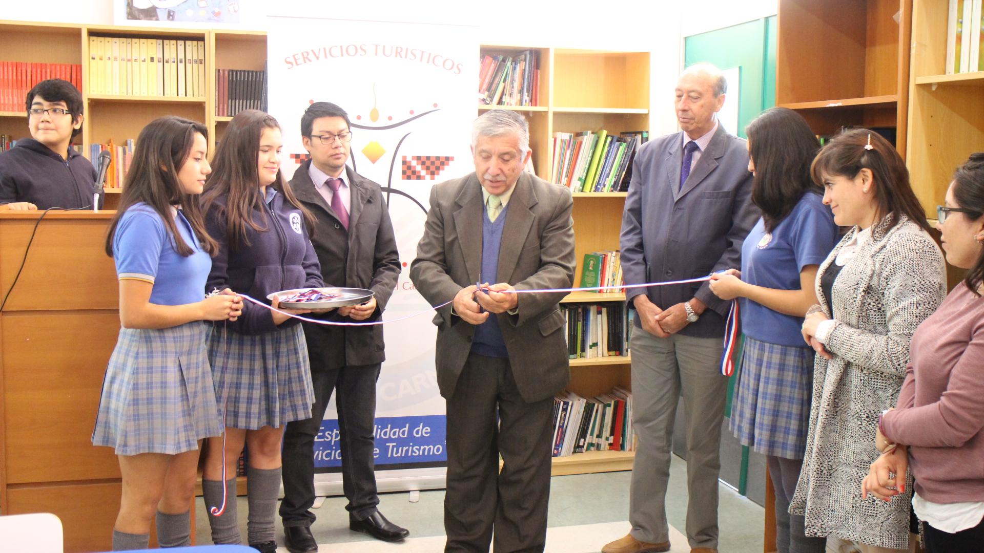 Inauguran CRA en liceo de Alto del Carmen