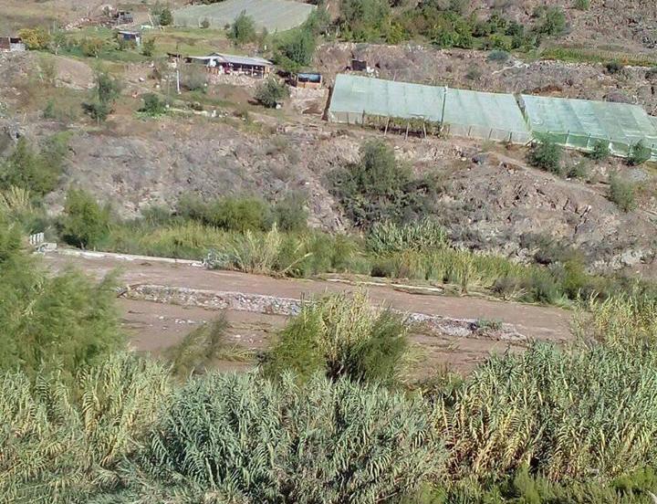 90% de infraestructura hídrica estaría dañada en el valle del Huasco