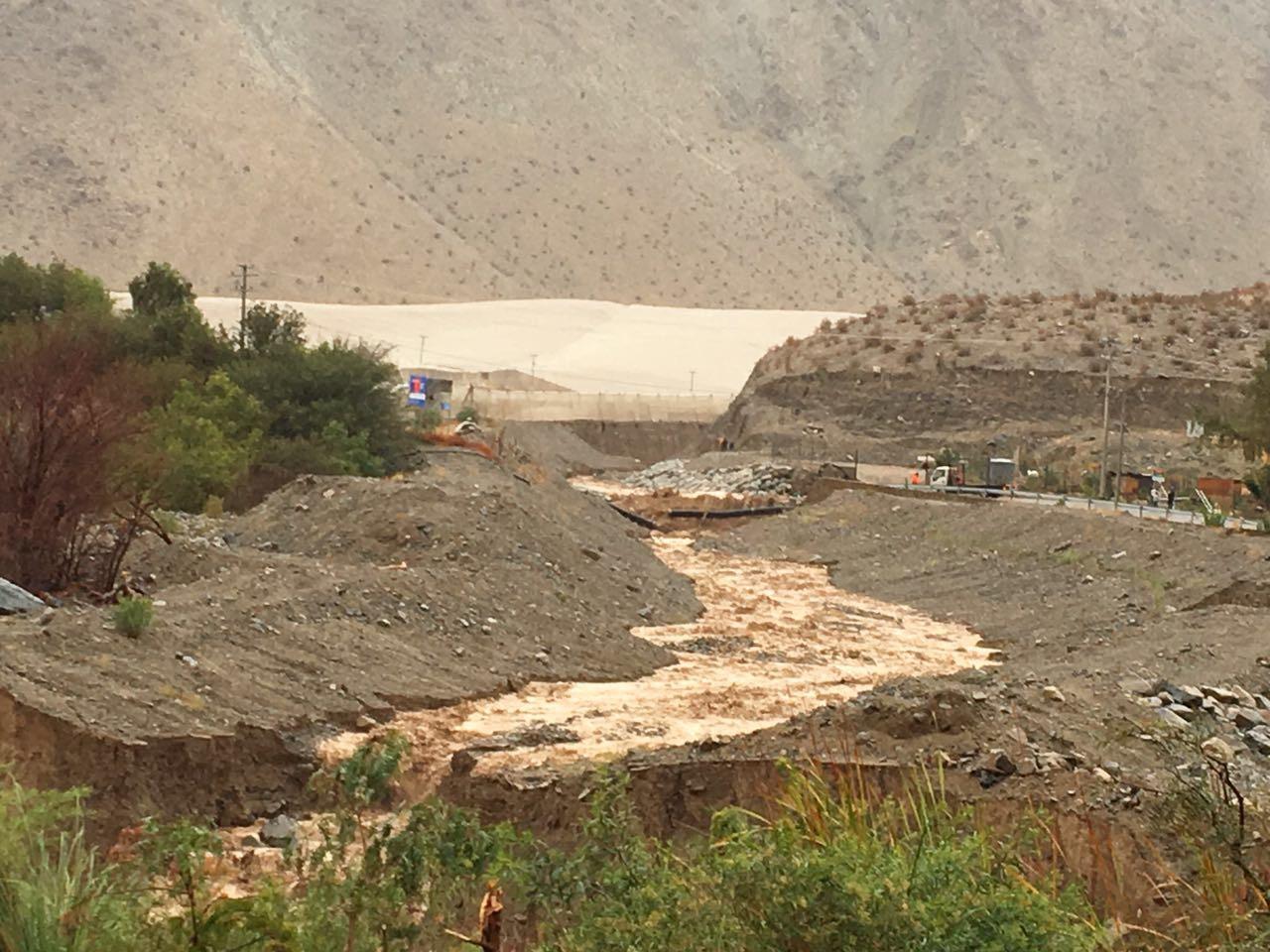 Gobierno anuncia decreto de zona de catástrofe legal sólo para Chañaral