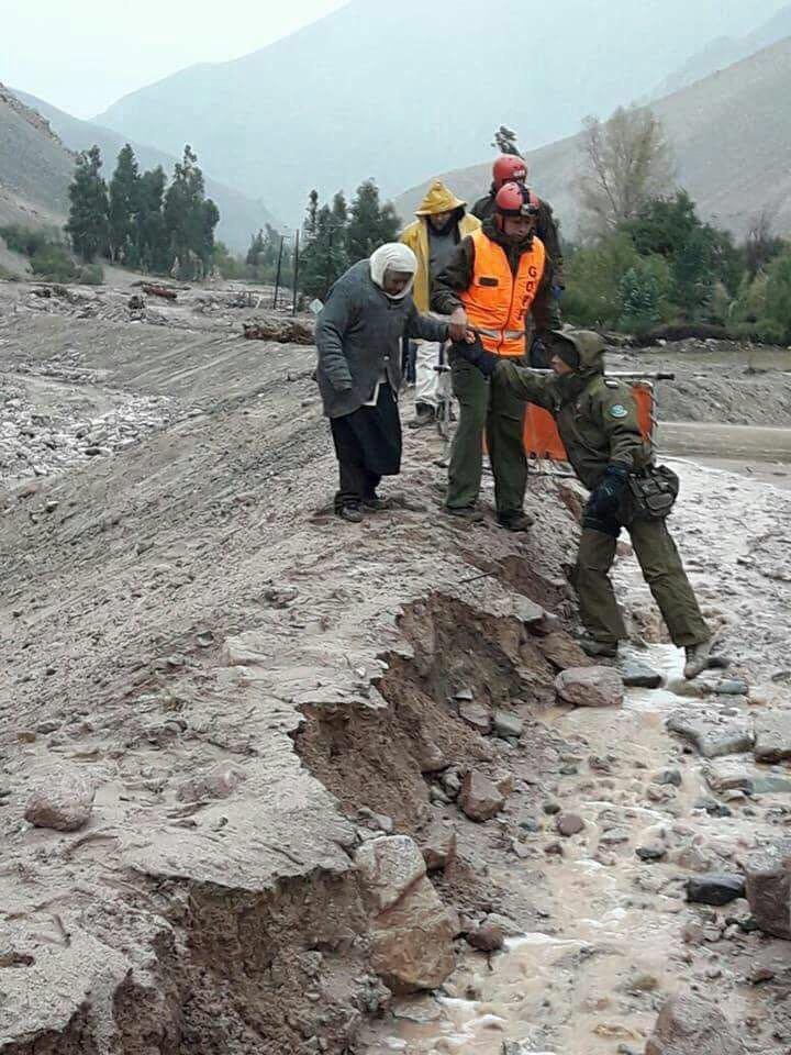 Sistema frontal se intensificará en la tarde del viernes en la región de Atacama