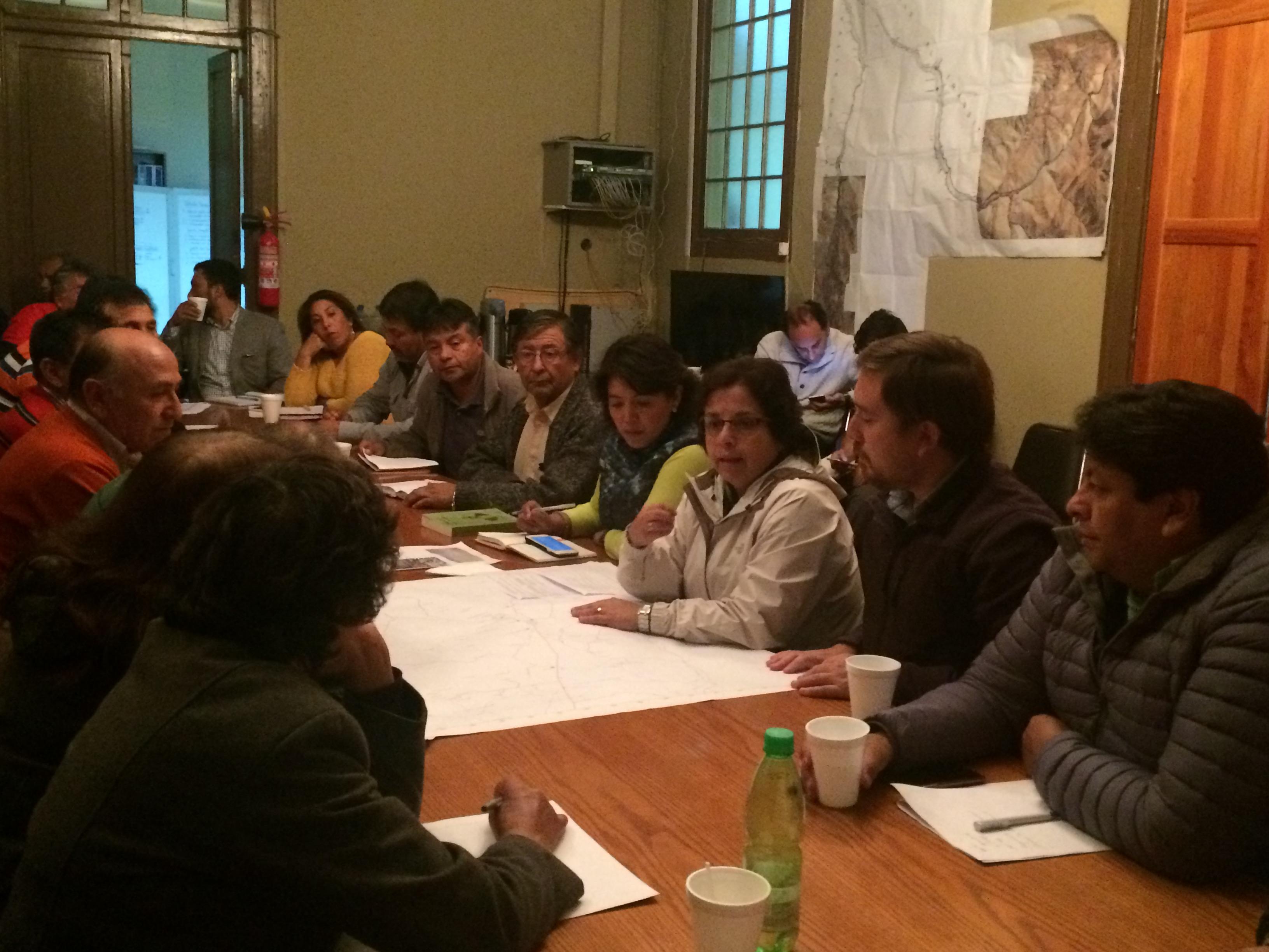 Ministra de minería se reunió con pequeños mineros y pirquineros del Huasco por efecto de  lluvias en la zona