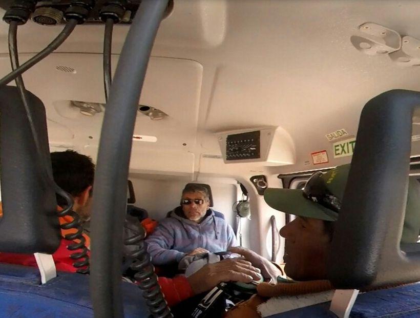 Rescatan a 5 trabajadores de una minera aislados en sector cordillerano de Vallenar